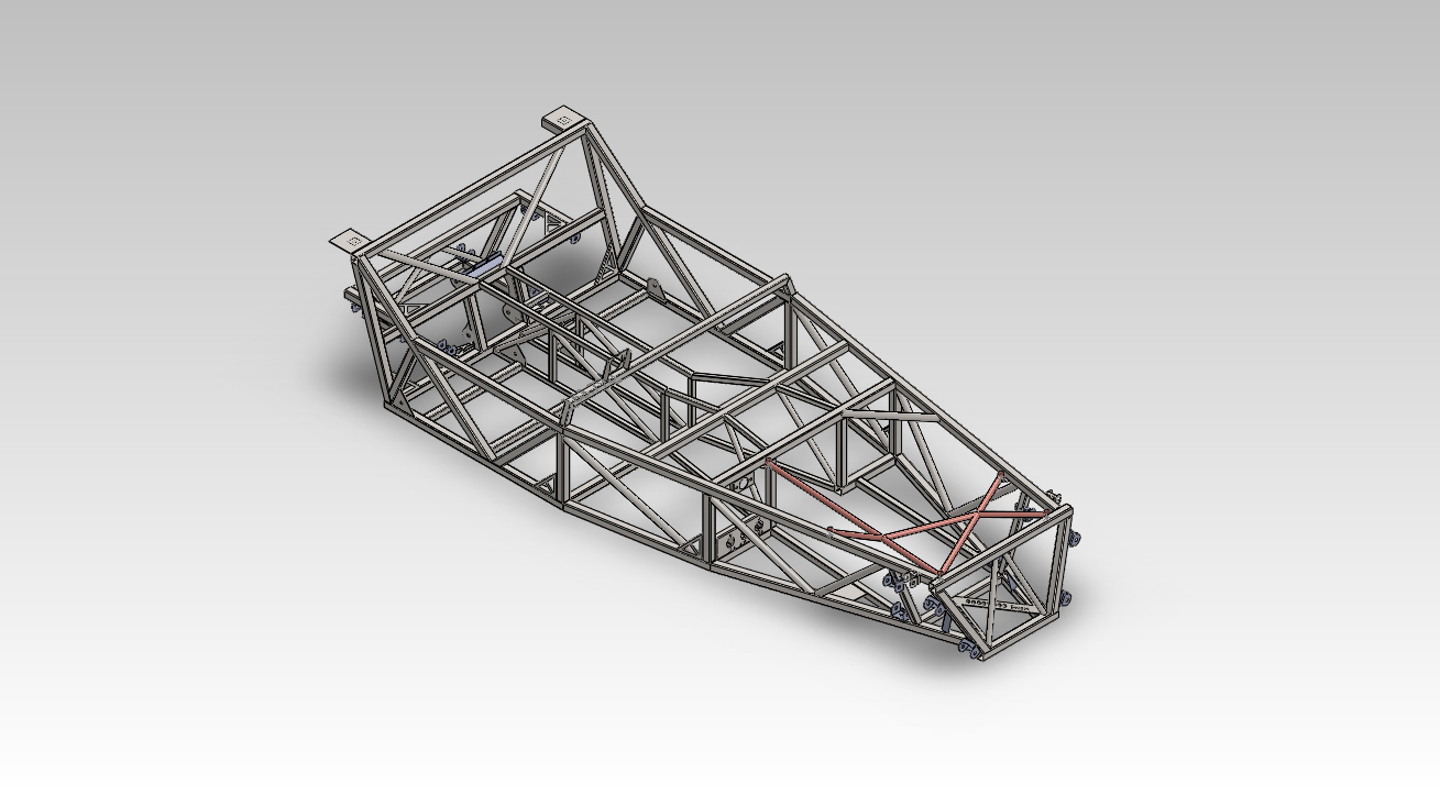 Locost Racer Chassis - Complete